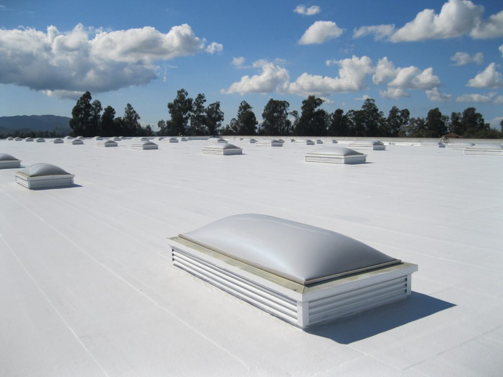 flat roof built by commercial Roofing Contractors in Johnson County