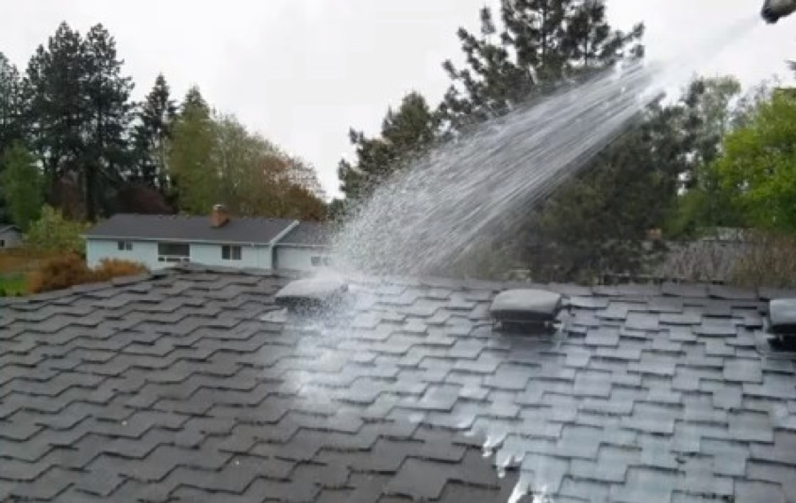 Cleaning Moss Amp Algae Off Your Roof In Platte County