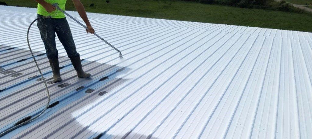 How Spray on Roof Coatings Benefit Commercial Roofs