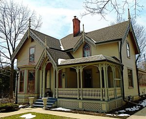 Roofing Victorian Shamrock - porch roof