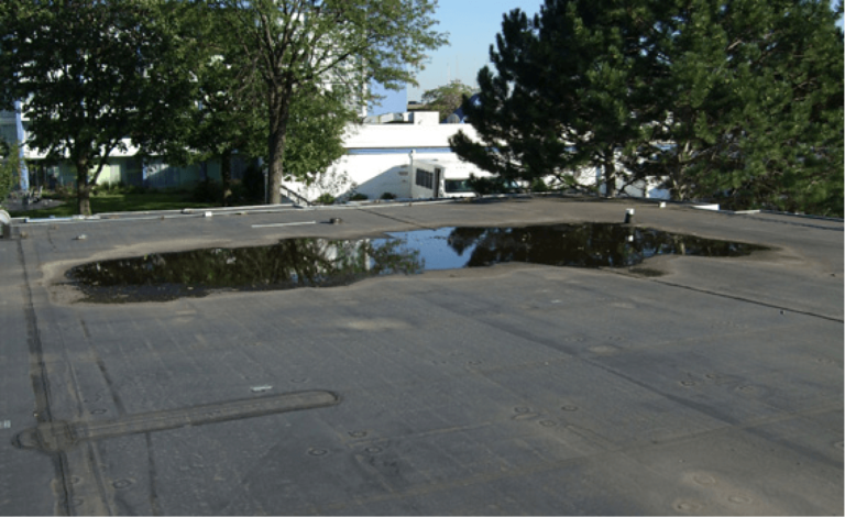 The Importance of Proper Drainage on Commercial Roofs
